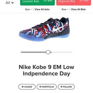 Kobe 9 independence days